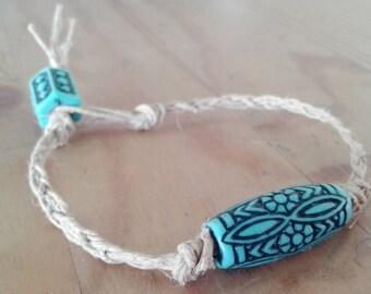 Mermaid Fishtail Hemp Bracelet
