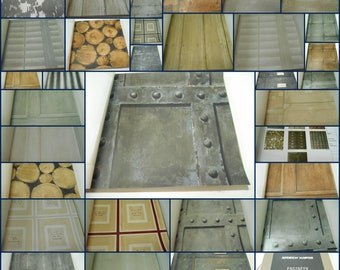 "Andrew Martin -Wallpaper Sample Book- For Paper Crafts- Scrapbooking- 46pcs- 17 1/2"" x 17"""