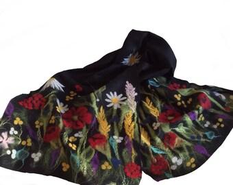 Wild flowers wrap