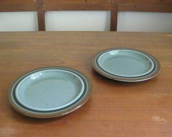 ARABIA Finland - MERI - Set of 2 Cake Plates - Ulla Procopé - Finnish Pottery