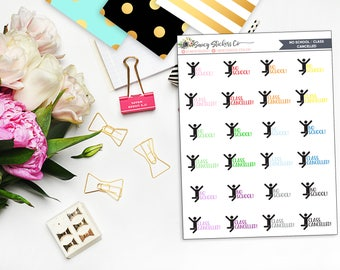 No School/Class Cancelled School College Planner Stickers | for use with Erin Condren Lifeplanner™, Filofax, Personal, A5, Happy Planner