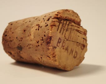 Thermos cork stopper