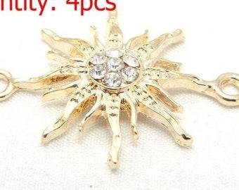 gp sunburst necklace bracelet connector