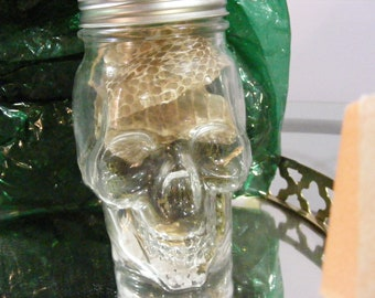 A Witches Bottle, Protection, Full Moon Charged, Saturn Magic Squares, Shed SNAKE Skin, Witches Bottle, Planetary Magick