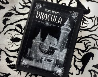 Dracula - Bram Stoker - Book Box - Paper mache - Jewelry Box- Gift idea for Book Lovers - Literary gift