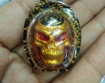 Prai Ghost Skull Mae Thongkham Thai Amulet Love Charm Talisman Magic Occult Locket Spirit Whisper Blessed