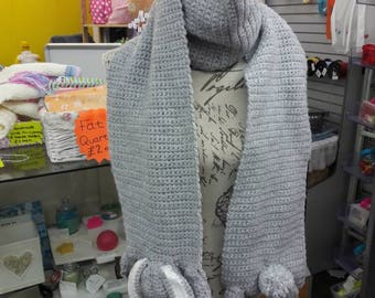 Crocheted Bunny Scarf