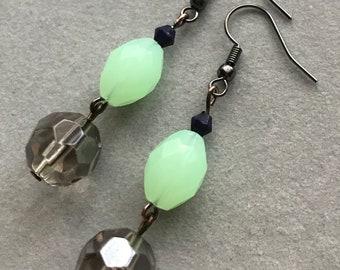 Antique Style Dangle Earrings