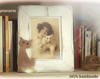 Cornice con Gatto