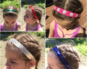 No Slip Sports Headband, Volleyball Headband, Yoga Headband - BOGO -> Purchase one and comment style/color of the second one at checkout.
