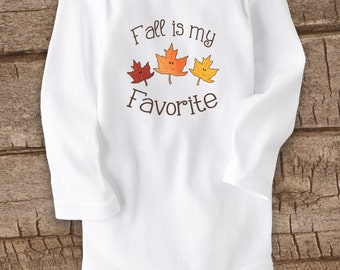 Cute Baby bodysuit, Unique Baby clothes, Baby Bodysuit, Funny Baby Clothes, Autumn Leaves, Leaf, Nature, Woodland baby, Fall baby