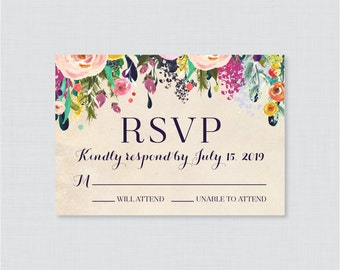 Matching Reply Cards to ANY invitation design in our shop