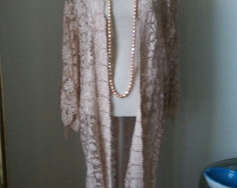 Beautiful Lace Kimono