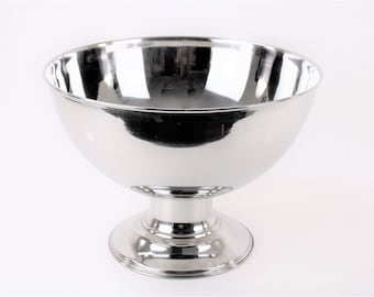 Plain Smooth Design Stainless Steel Punch Bowl