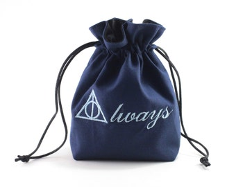 Always Dice Bag, Drawstring Bag