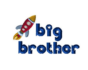 Embroidery File 5x7: Big Brother