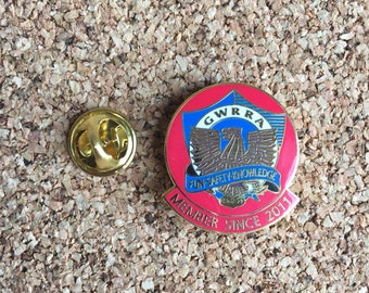 Gold Wing Rough Rider Association Pin