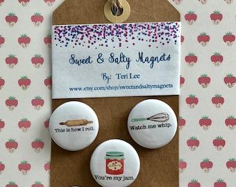 You're my Jam magnet set (1 set of 5 magnets)