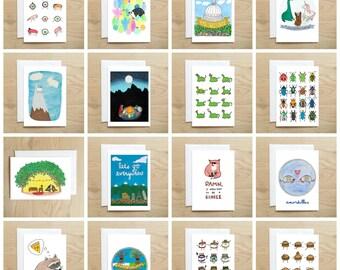Choose Any Six Cards (card set / bulk cards / six cards / card set under 20 / card for him / card for her / birthday card / love card)
