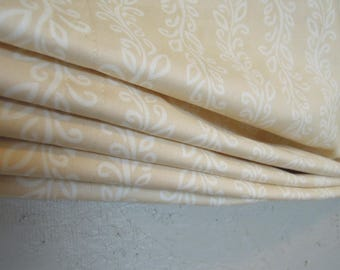 Ready-made Climbing Vines Relaxed Roman Shade, Organic Cotton, 25 3/4 x 67 1/2, Window Covering
