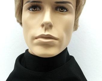 Short Blonde Men's Synthetic Fashion Wig. Men's Side Part Wig. [89-456-Don-16]