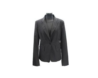 Burberry Black Suit Jacket