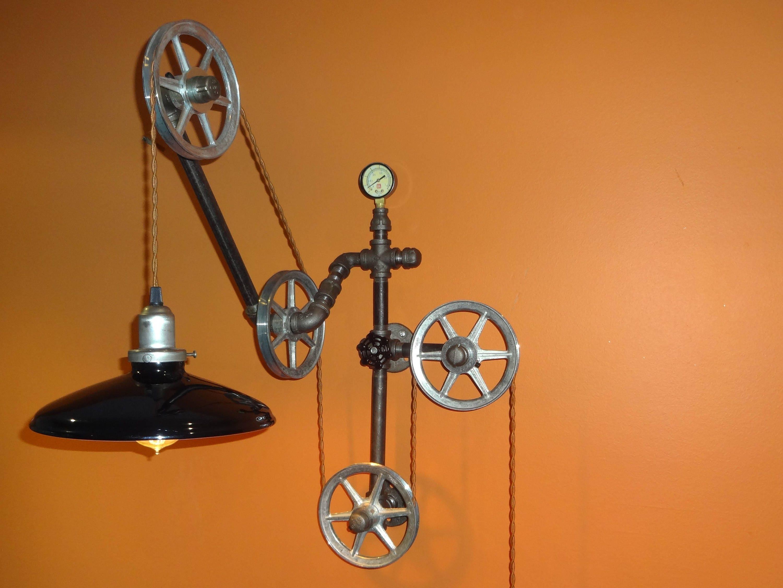 desk lamp architecturalindustrial wall mounted desk lamp. Black Bedroom Furniture Sets. Home Design Ideas