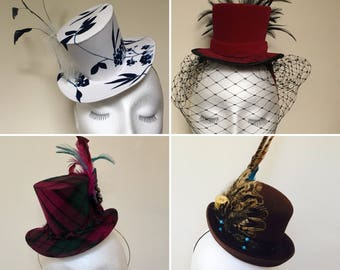 Custom Mini Top Hat