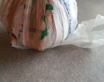 Plastic Grocery bag yarn