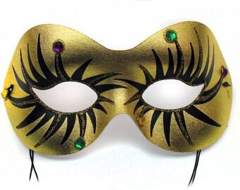 Glitter Eye Women's Masquerade Mask - A-0670GM-E