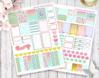 Printable Happy Planner Stickers, Erin Condren Planner Stickers