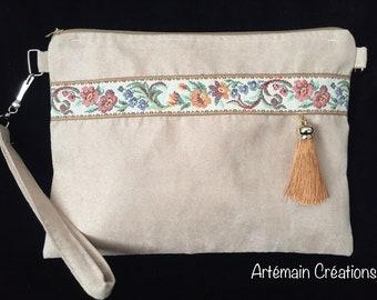 Handbag, shoulder strap, clutch
