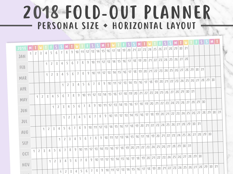 printable planner 2018