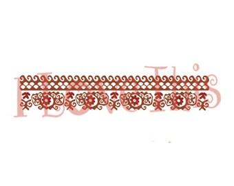 Pyrex Polynesian vinyl decal