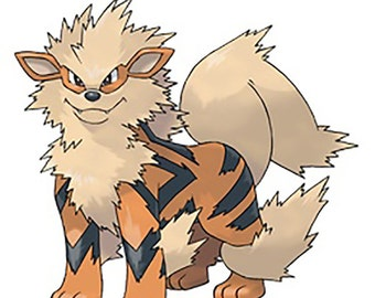 Pokemon Arcanine Sticker