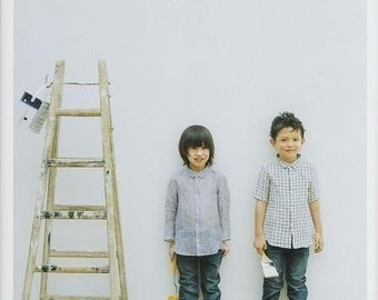 BOYS and GIRLS STANDARD KIDS CLOTHES - Japanese Book