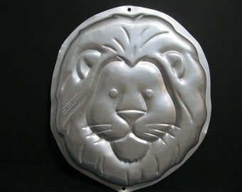Vintage Lion Wilton Cake Pan 1994