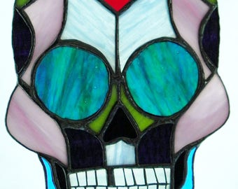 Stained Glass Sugar Skull