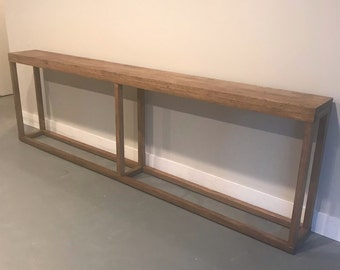 Long sofa table Etsy