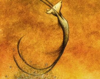 Future Golden Remains - fine art print