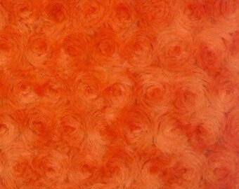 Orange Cotton Candy Grip bag