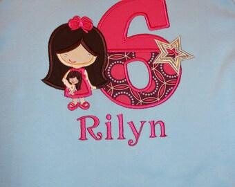 America's Girl Doll Birthday Shirt