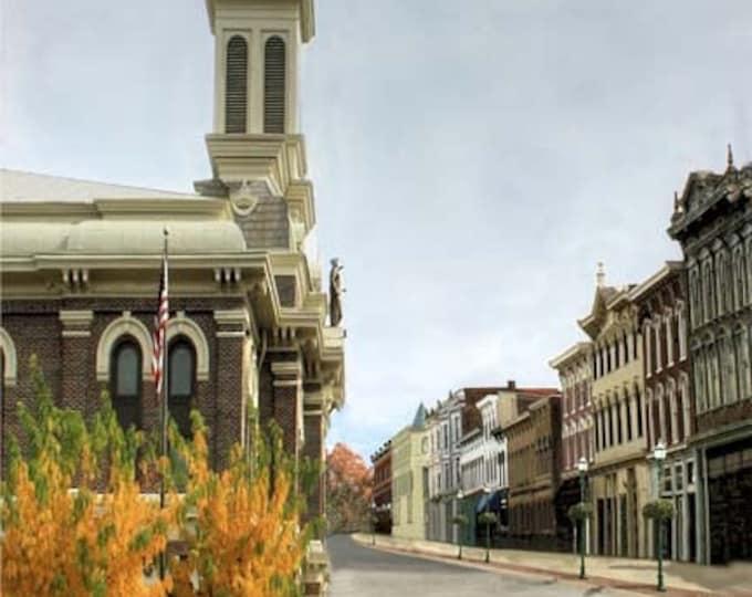 Kentucky, Georgetown,  Print on Fine Art Paper or Canvas