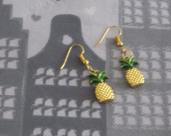 Earrings Pineapple