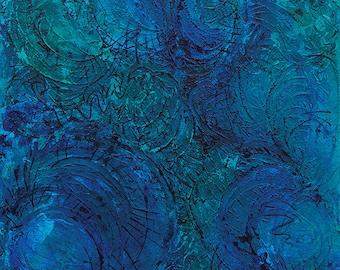 Abstract Acrylic || Mermaid Tales || Free Shipping
