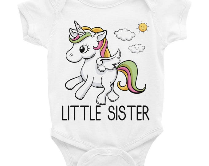 Newborn Little Sister, Coming Home Outfit, Baby Sister Onesie ® , Newborn Sister Sister Outfits, sister, little sister shirt, sibling shirts