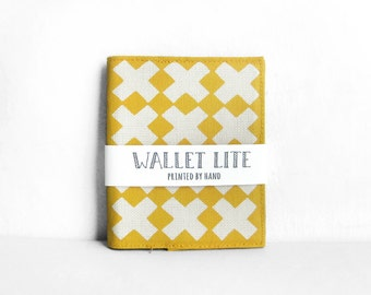 Slim wallets, Thin wallets, Yellow wallets, Mens wallets, Mens slim wallets, Bifold wallets, Wallet womens slim, Wallet, Handprinted Olula