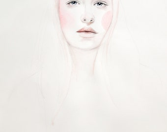 Jemima - Limited Edition Watercolour Print