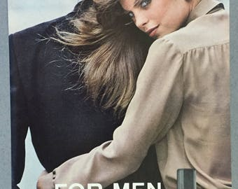 1980 Chanel for Men Print Ad - Cologne - Aftershave