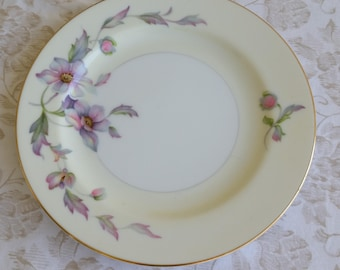 Silver Poppy by Sango Japan Bread and Butter Plate